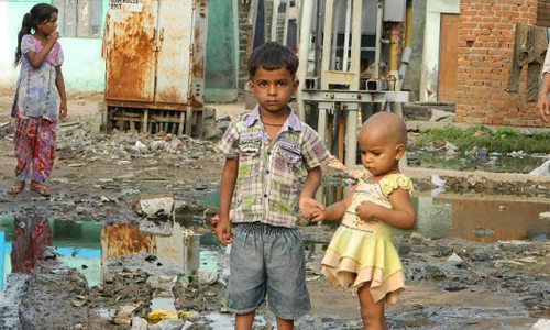 Escaping poverty in Bombay Hotel slum