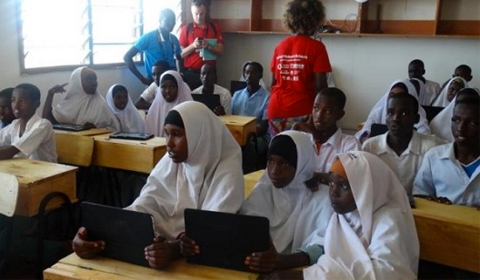 Technology connects Kenyan schools