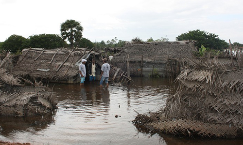Rehabilitation after floods in Eastern Districts