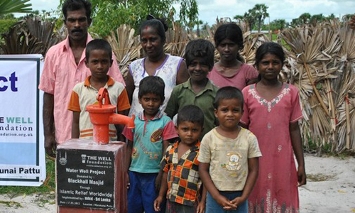 Fresh water for families in Ampara