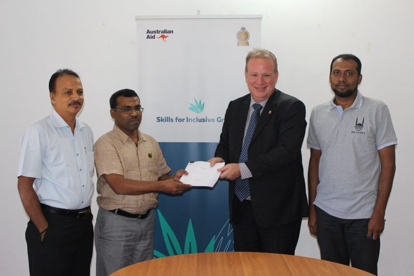Islamic Relief (Sri Lanka) has signed a Funding agreement with Scope Global