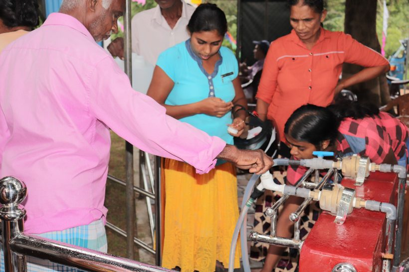 Access to pure Drinking Water and Hygienic Promotion in Sri Lanka