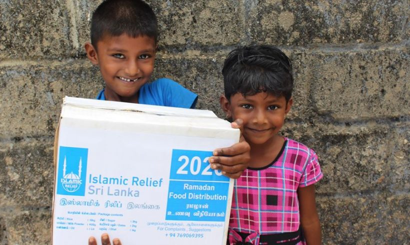 Reaching out to more than 2500 Families during this Holy month of Ramadan